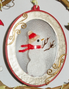 globecraft wreath candy spiegel detail