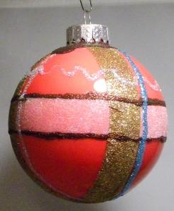 Art Glitter Ornament by Candy Spiegel