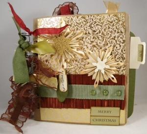 christmas paper bag album 001