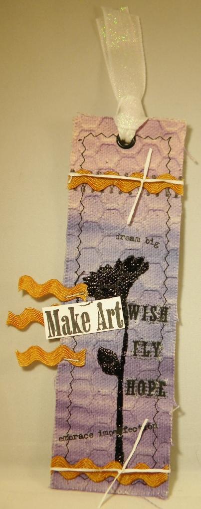 Linnie Blooms Bookmark by Candy Spiegel
