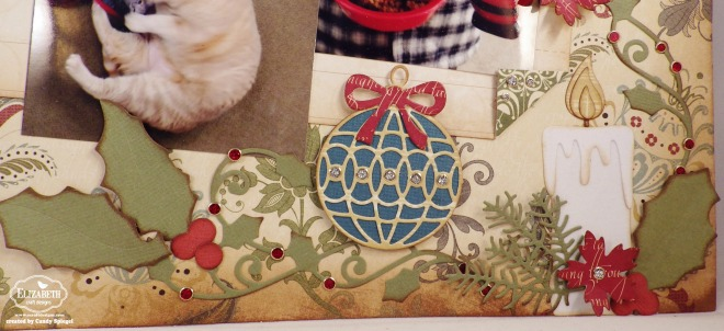 ECD Christmas Layout by Candy Spiegel2