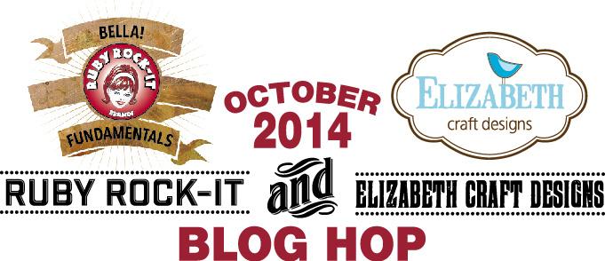 Ruby Rock It And Elizabeth Craft Designs Blog Hop Candy Scraps